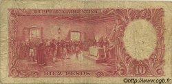 10 Pesos ARGENTINE  1942 P.265b AB