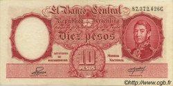 10 Pesos ARGENTINE  1942 P.265b SUP