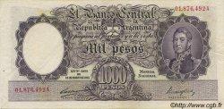 1000 Pesos ARGENTINE  1944 P.269b TTB+