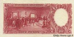 10 Pesos ARGENTINE  1954 P.270a SUP à SPL