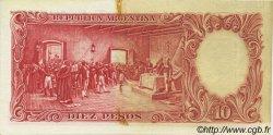 10 Pesos ARGENTINE  1954 P.270c TTB