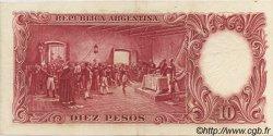 10 Pesos ARGENTINE  1954 P.270c pr.SPL