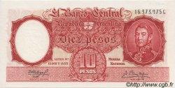 10 Pesos ARGENTINE  1954 P.270c NEUF