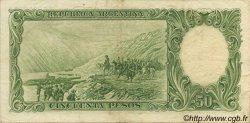 50 Pesos ARGENTINE  1955 P.271c TTB