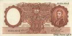 100 Pesos ARGENTINE  1957 P.272a SUP