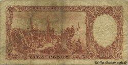 100 Pesos ARGENTINE  1957 P.272c B