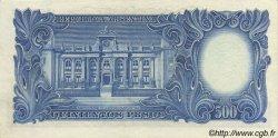 500 Pesos ARGENTINE  1954 P.273a SUP+