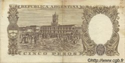 5 Pesos ARGENTINE  1960 P.275a TTB+