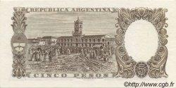 5 Pesos ARGENTINE  1960 P.275a pr.NEUF