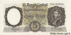 5 Pesos ARGENTINE  1960 P.275c NEUF