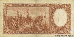 100 Pesos ARGENTINE  1967 P.277 TB