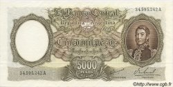 5000 Pesos ARGENTINE  1962 P.280b NEUF