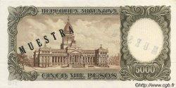 5000 Pesos ARGENTINE  1962 P.280s pr.NEUF