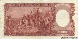 10000 Pesos ARGENTINE  1961 P.281b SUP