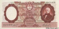 10000 Pesos ARGENTINE  1961 P.281b SPL