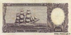 10 Pesos sur 1000 Pesos ARGENTINE  1969 P.284 pr.SUP