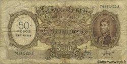 50 Pesos sur 5000 Pesos ARGENTINE  1969 P.285 B