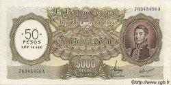 50 Pesos sur 5000 Pesos ARGENTINE  1969 P.285 SPL