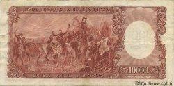 100 Pesos sur 10000 Pesos ARGENTINE  1969 P.286 pr.TTB