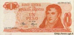 1 Peso ARGENTINE  1970 P.287 SUP+