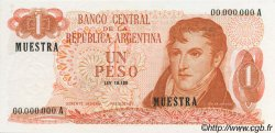 1 Peso ARGENTINE  1970 P.287s NEUF