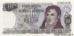 10 Pesos ARGENTINE  1970 P.289 NEUF