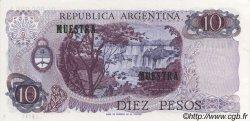 10 Pesos ARGENTINE  1970 P.289s NEUF