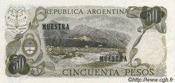 50 Pesos ARGENTINE  1972 P.290s NEUF