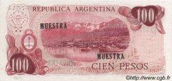 100 Pesos ARGENTINE  1971 P.291s NEUF