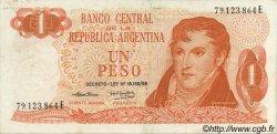 1 Peso ARGENTINE  1974 P.293 SUP