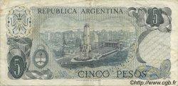 5 Pesos ARGENTINE  1974 P.294 TTB