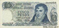 5 Pesos ARGENTINE  1974 P.294 SPL
