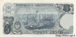5 Pesos ARGENTINE  1974 P.294 NEUF
