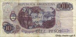 10 Pesos ARGENTINE  1973 P.295 TTB
