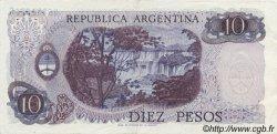 10 Pesos ARGENTINE  1973 P.295 SUP