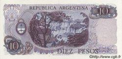 10 Pesos ARGENTINE  1973 P.295 NEUF