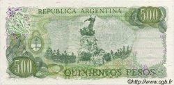500 Pesos ARGENTINE  1974 P.298c NEUF