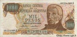 1000 Pesos ARGENTINE  1973 P.299 TTB+