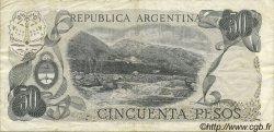 50 Pesos ARGENTINE  1976 P.301a TTB