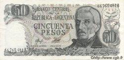 50 Pesos ARGENTINE  1976 P.301a SPL