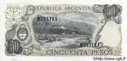 50 Pesos ARGENTINE  1976 P.301as SPL
