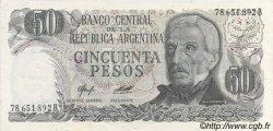 50 Pesos ARGENTINE  1976 P.301b SPL