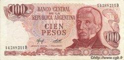 100 Pesos ARGENTINE  1976 P.302a SUP