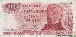 100 Pesos ARGENTINE  1976 P.302b TTB+