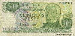 500 Pesos ARGENTINE  1977 P.303a TB+