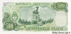 500 Pesos ARGENTINE  1977 P.303a NEUF