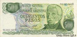 500 Pesos ARGENTINE  1977 P.303b SPL