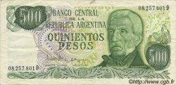 500 Pesos ARGENTINE  1977 P.303c TTB
