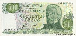 500 Pesos ARGENTINE  1977 P.303r pr.NEUF