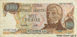 1000 Pesos ARGENTINE  1976 P.304b SUP